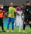 """Neymar e Vidal trocam alfinetadas na web: """"Choro é livre"""""""