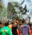 Avião militar cai nas Filipinas e deixa pelo menos 45 mortos
