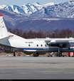 Passageiros sobrevivem após pouso forçado de avião russo