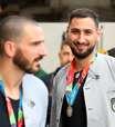 Seleção da Euro tem 5 italianos e fica sem Cristiano Ronaldo