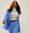 Giovanna Antonelli mostra como usar terninho com tênis