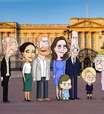 Família real britânica vira série de comédia animada. Veja o trailer
