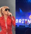 "Miley Cyrus coloca ""Free Britney"" no telão do Lollapalooza"