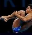Na final dos saltos ornamentais, Kawan Pereira faz história