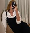 Marina Ruy Barbosa mostra como usar camisa com vestido