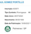 Palmeiras estende contrato de Gustavo Gómez por mais 6 meses