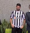 Atlético-MG: Diego Costa mira títulos em sua apresentação