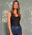Isabella Fiorentino prova ar fashion de look básico