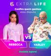 Extra Life: MC Rebecca e Yarley se enfrentam em Fall Guys