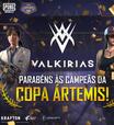 PUBG MOBILE: Valkirias eSports vence Copa Ártemis