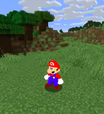 Super Mario 64 invade Minecraft graças a modificação de fã