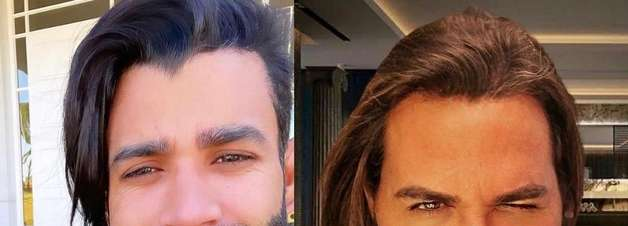 Gusttavo Lima muda visual e é comparado com Eduardo Costa