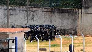 Polícia volta a entrar na Penitenciária de Alcaçuz
