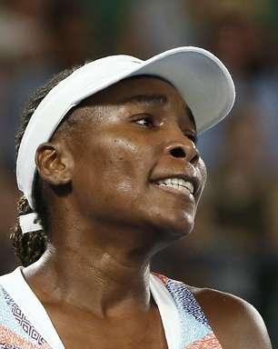 Venus Williams é eliminada na estreia do Aberto da Austrália