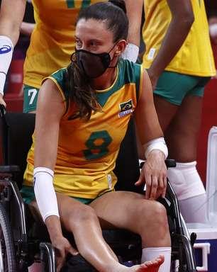 Brasil supera Japão, mas levantadora sofre grave lesão