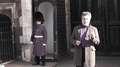 Bronca viral de un guardia real a un turista en Londres