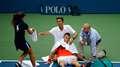 US Open: el calor cobró varias