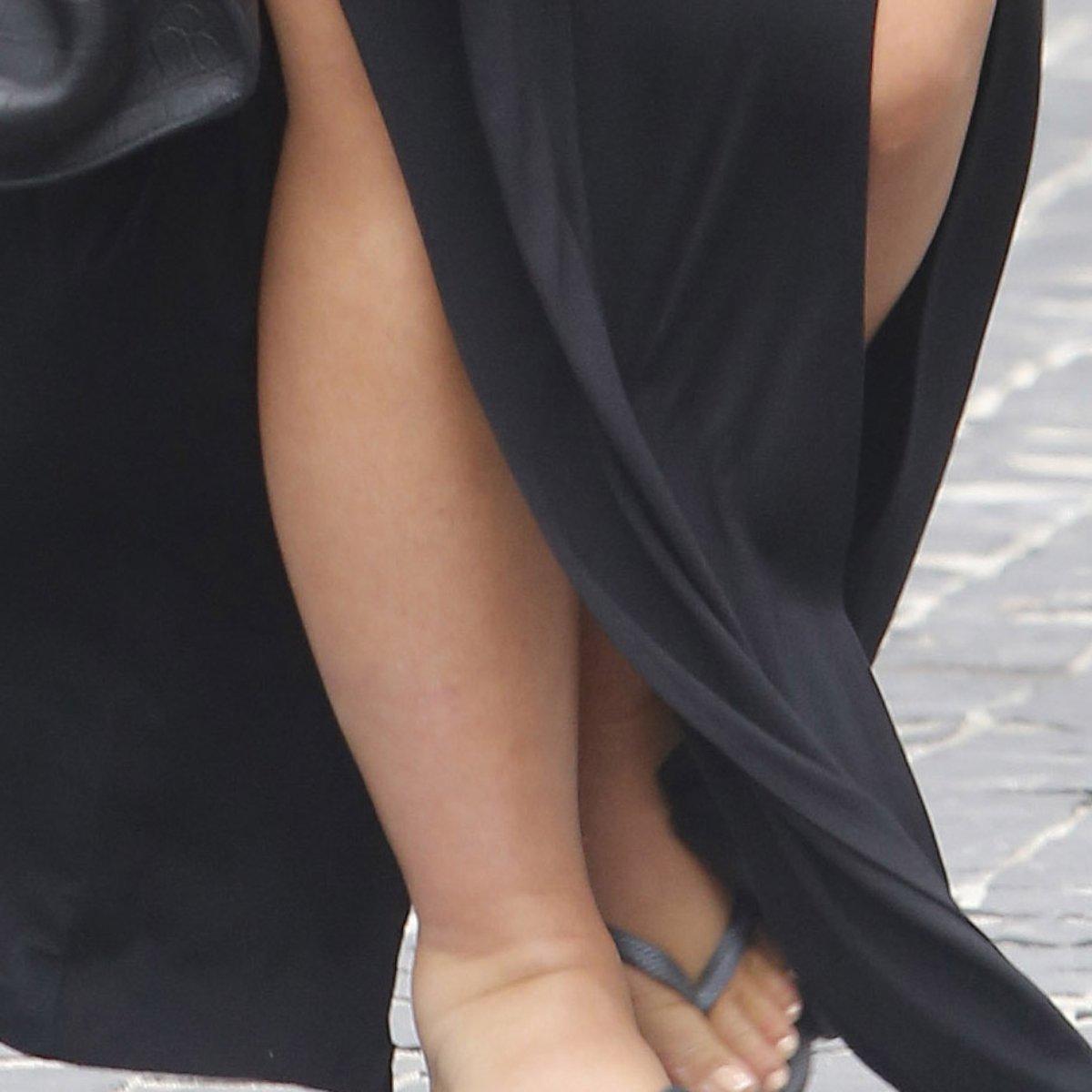 como inchar seus pés durante a gravidez