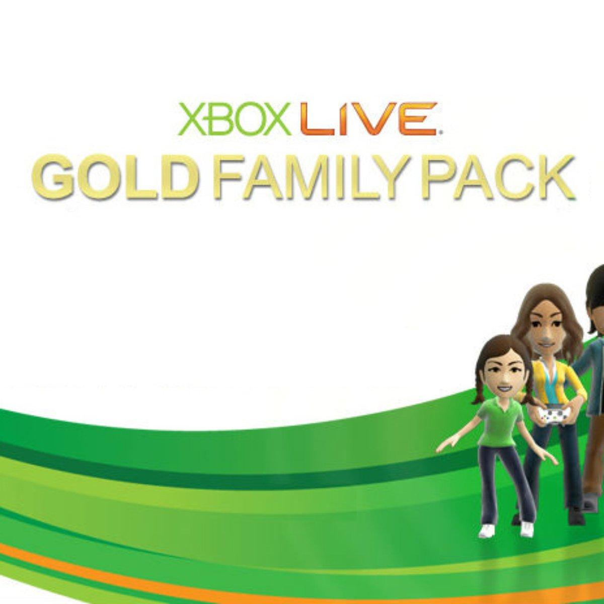 Assinantes do pacote família no Xbox Live Gold receberão contas