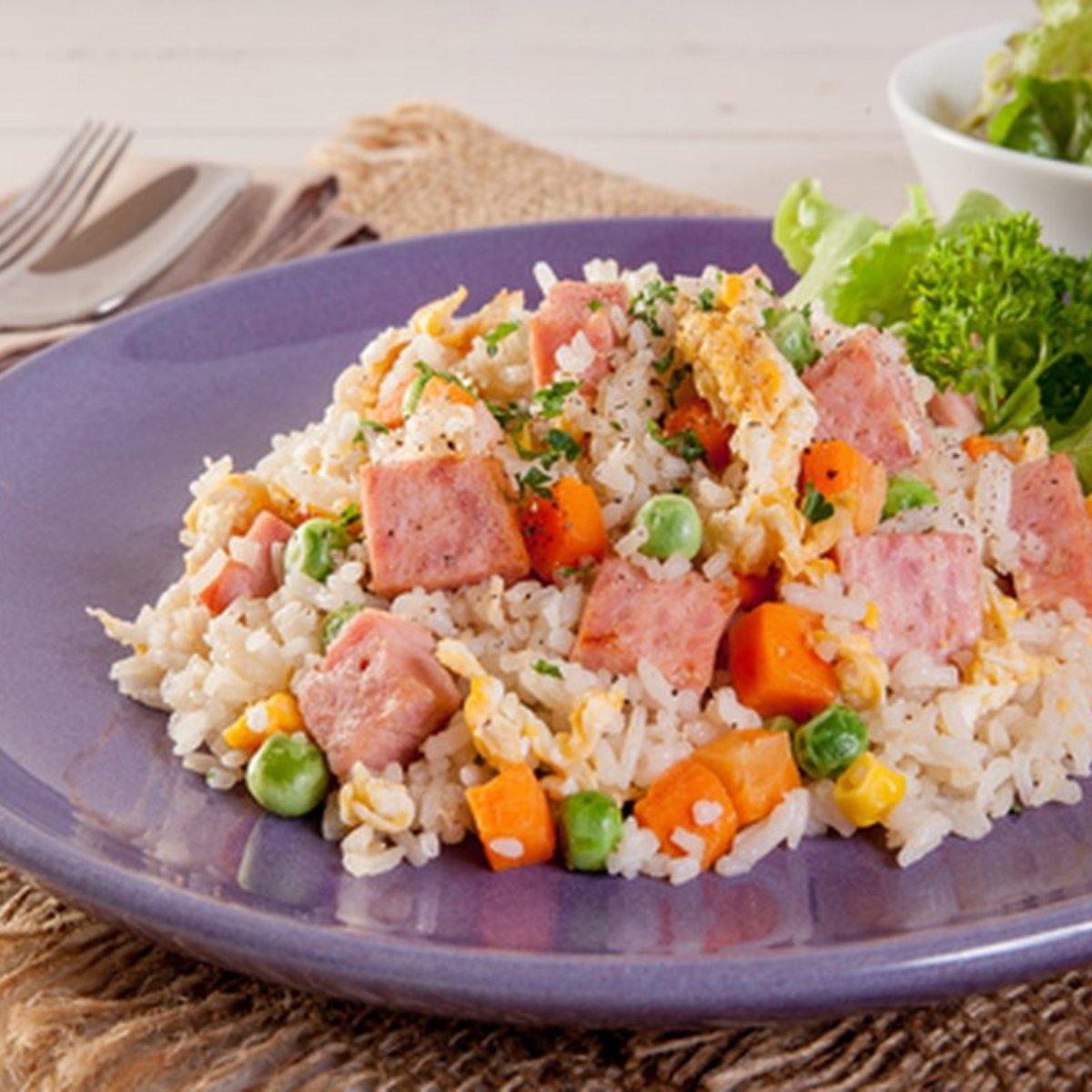 bolinho de sobras de arroz cozido
