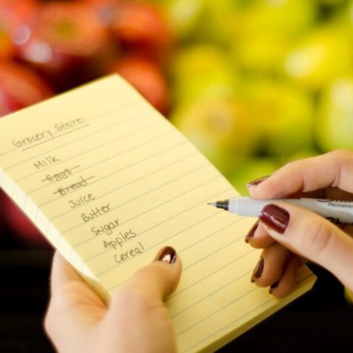 Lista de Compras: 5 Dicas para Fazer a Sua + Sugestão de Lista Definitiva