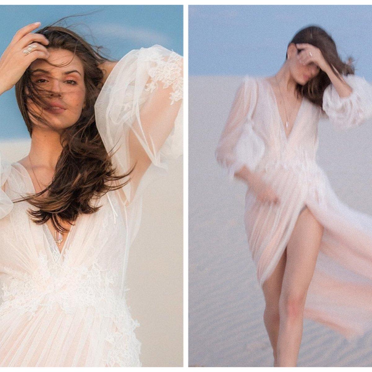 Pré Wedding Camila Queiroz Exibe Vestido Com Transparência