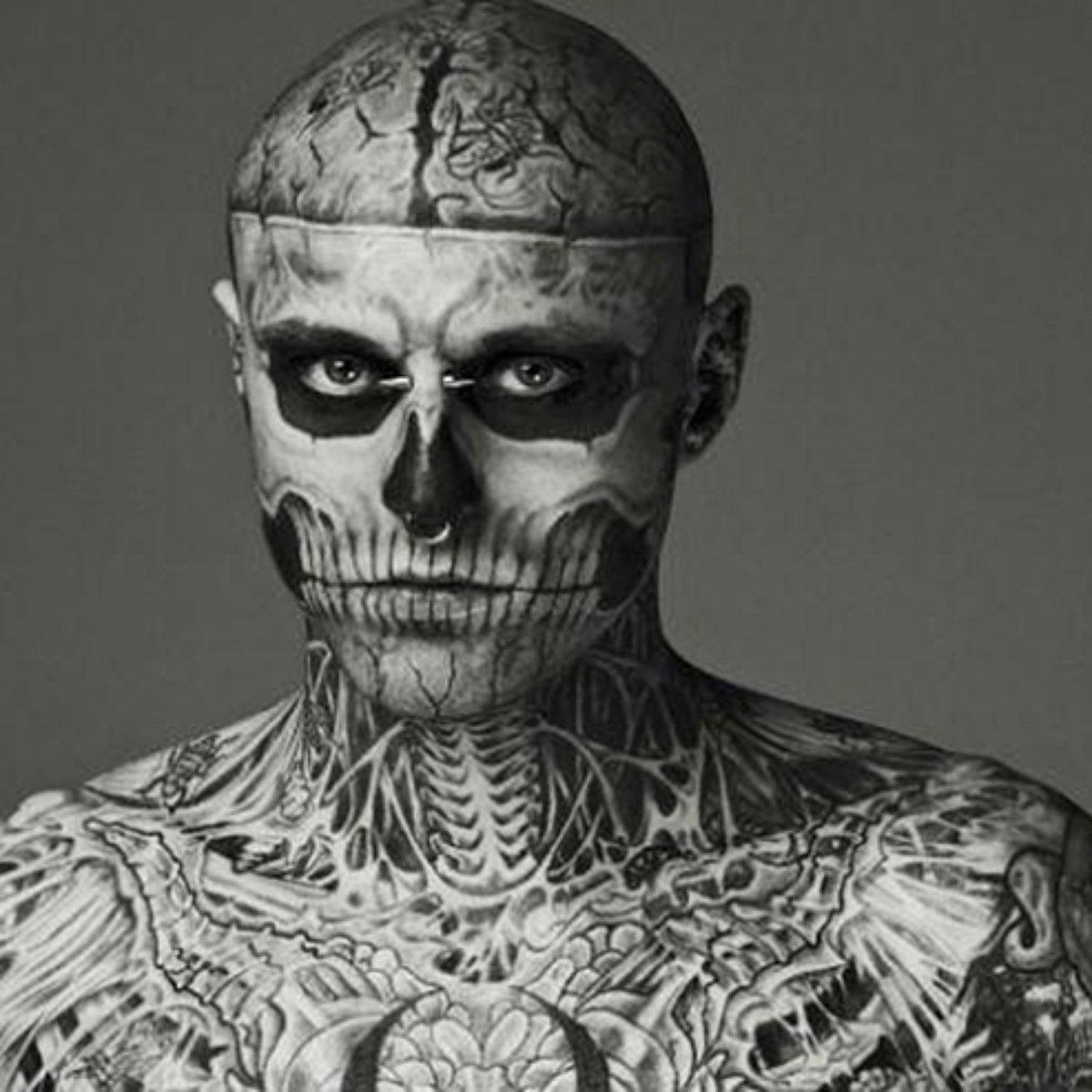 Cantor Todo Tatuado Brasileiro morte de zombie boy encerra carreira fantástica na moda