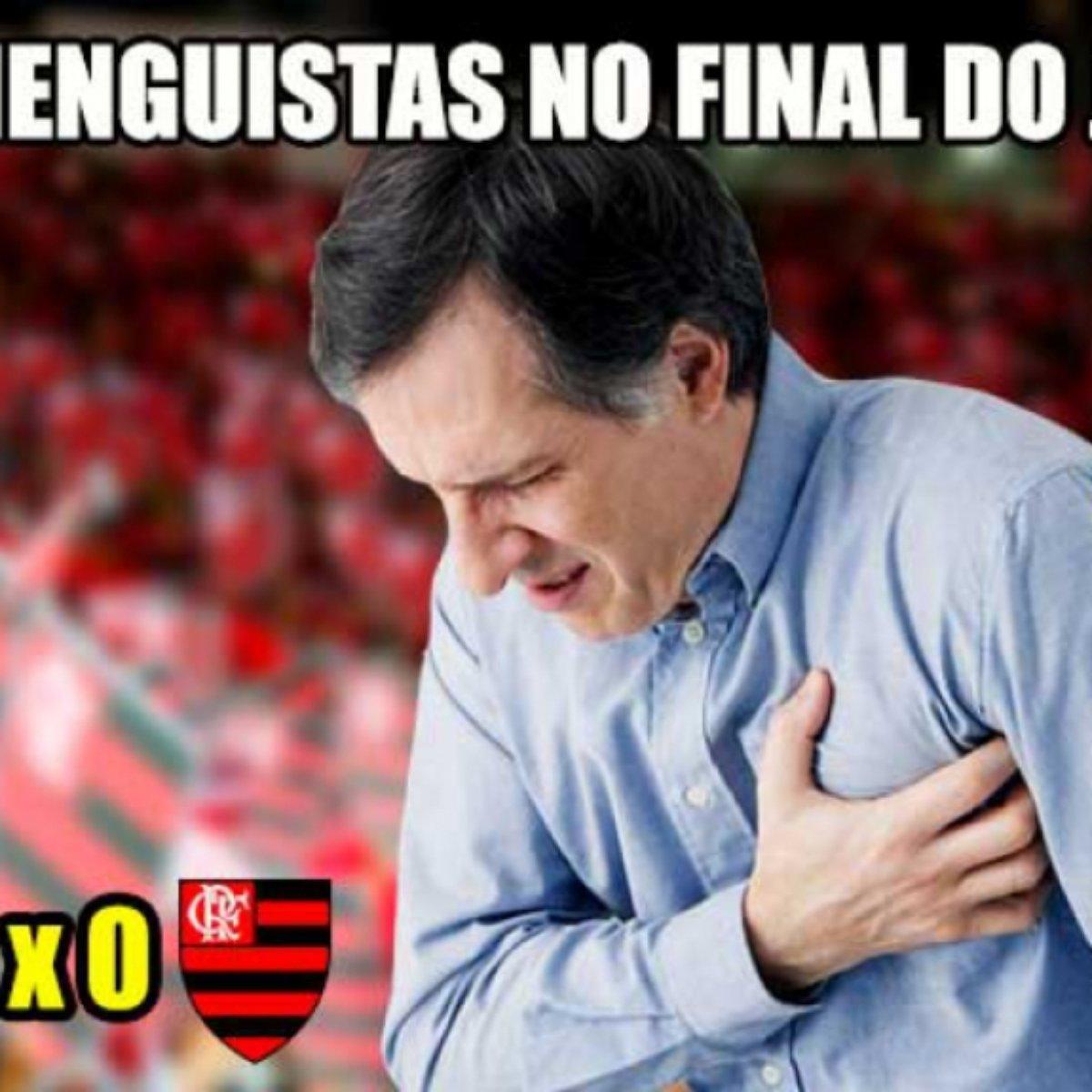 Sufoco E Comemoração Veja Os Memes Da Classificação Do Flamengo