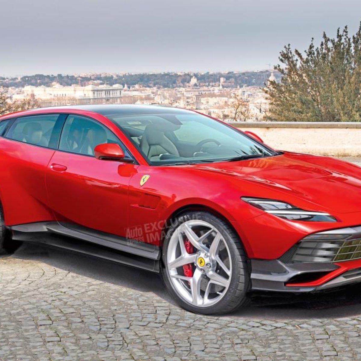 Revista Inglesa Revela Novas Projecoes Da Ferrari Suv