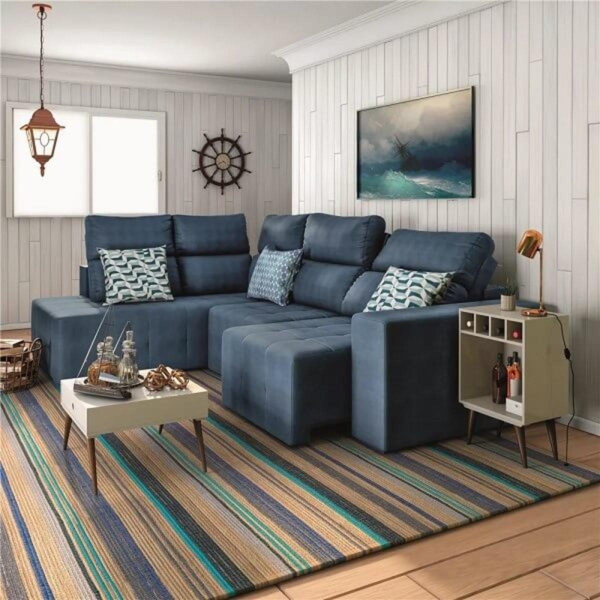 Como Escolher O Modelo Ideal De Sofa Retratil De Canto