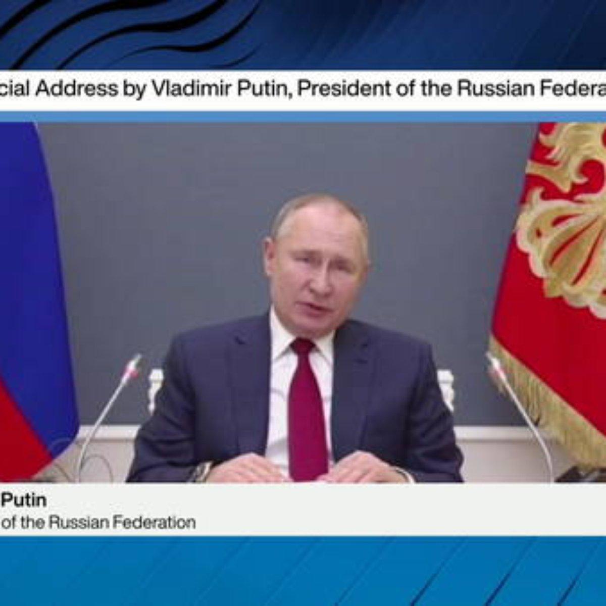 Em Davos, Putin fala sobre 'distopia' causada pela Covid-19