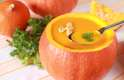 Reduz o risco de câncer: a abóbora possui o antioxidante betacaroteno, que atua na prevenção do câncer, de acordo com o National Cancer Institute