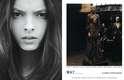 Clarice Vitkauskas, de 16 anos, é de Guarulhos, São Paulo. Já fez uma temporada de moda no Brasil e estreou também em temporadas internacionais. Já fotografou para a 'Vogue Italia'