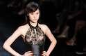 Os estilistas do SPFW abusaram da transparência na 34ª edição do evento. O vestido de R. Rosner prova que a tendência veio para ficar