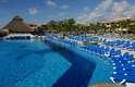 A maioria dos hotéis de Cancún oferece piscinas para lá de convidativas