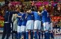 A seleção italiana venceu, neste domingo, a Colômbia por 3 a 0 e conquistou a medalha de bronze da Copa do Mundo de Futsal, disputada na Tailândia