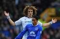 Everton saiu na frente contra o Chelsea