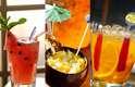 É possível variar a caipirinha tradicional ao utilizar outras bebidas e frutas em sua preparação