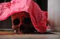Segundo a PM, o crânio estava dentro do Grande Avenida, localizado no número 1.754 da avenida, bairro Jardim Paulista