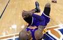 Bryant teve o que classificou como a pior lesão de tornozelo em 16 anos