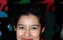 A jornalista chilena Natalia Ramos apostou no animal print para valorizar o pescoço