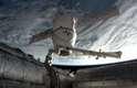 A Dragon se desprendeu da Estação Espacial com mais de 1,2 mil quilos de materiais e amostras de pesquisas científicas