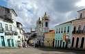 Centro Histórico:primeira capital do Brasil, entre 1549 e 1763, Salvador foi um ponto de convergência das diversas culturas que formam a história do País
