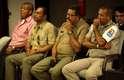 10 de maio Os réus José Geraldo da Silva, Reinaldo Correia de Lima Filho, Adeildo Costa dos Santos e Josemar Faustino dos Santos acompanham o júri