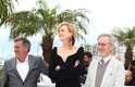 Os membros do júri Daniel Auteuil, Nicole Kidman e Steven Spielberg