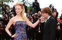 Nicole Kidman, membro do júri do 66º Festival de Cinema de Cannes, marcou presença na première de Inside Llewyn Davis, acompanhada do marido, Keith Urban