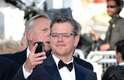 'Behind the Candelabra', filme de Steven Soderbergh, foi exibido nesta terça-feira (21) no festival de cinema de Cannes, com vários famosos passando pelo tapete vermelho. Na foto, Matt Damon
