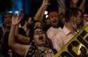 Manifestantes protestam contra reajusta do preço do ônibus no Rio de Janeiro - a passagem aumentou para R$ 2