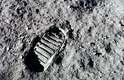 Neil Armstrong marcou seu passo na história em 20 de julho de 1969, quando a primeira pegada humana foi deixada no satélite natural da Terra