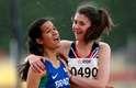 A paulista Verônica Hipólito conquistou nesta segunda-feira a medalha de ouro dos 200 m T38. A paratleta tem apenas 17 anos e superou um tumor na cabeça e um acidente vascular cerebral para chegar à marca
